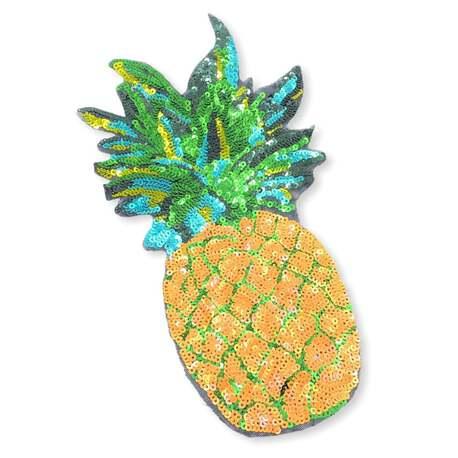 Naszywka ananasa do naszycia na bluzkę