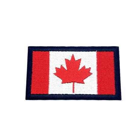 Aplikacja narodowa Kanady, idealna ozdoba na ubranie do przyprasowania.