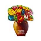 Bukiet tulipanów - świetny karnet igieł do szycia, bardzo przydatny w podróży.