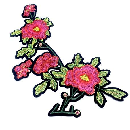 Aplikacja ozdobna róża APL289 (1)