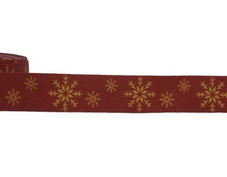 Taśma rypsowa świąteczna 027 szer. 2cm (1)