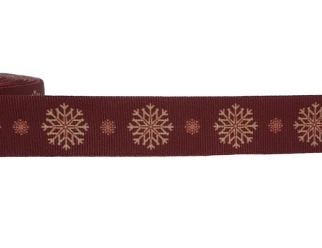 Taśma rypsowa świąteczna 028 szer. 2cm (1)