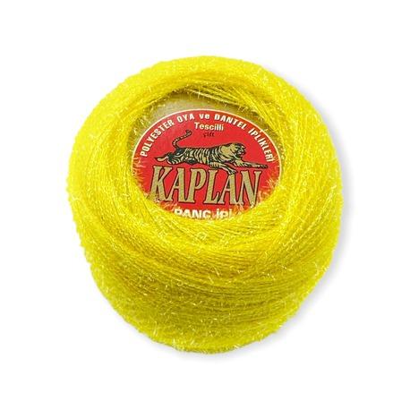 Żółty kordonek metalizowany do robótek Kaplan