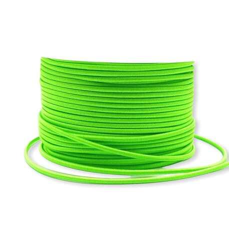 Zielona guma okrągła 2,5mm