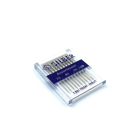 Igły maszynowe Silber zestaw uniwersalne Silber 70-100 (1)