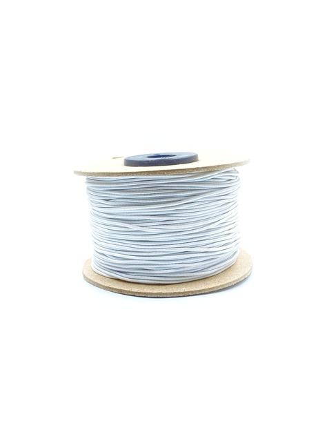 Guma okrągła biała szer. 1,3mm (1)