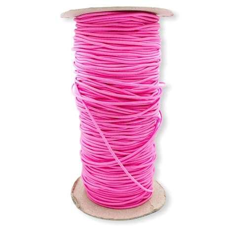 Różowa guma okrągła elastyczna 1,7mm