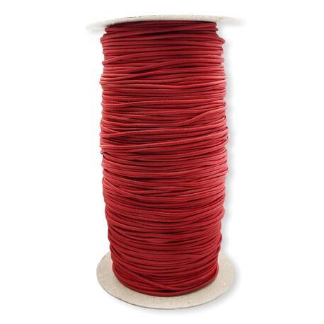 Guma okrągła elastyczna kolor czerwony