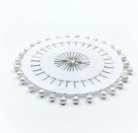 Karnet szpilek z perłową główką 30szt. (1)