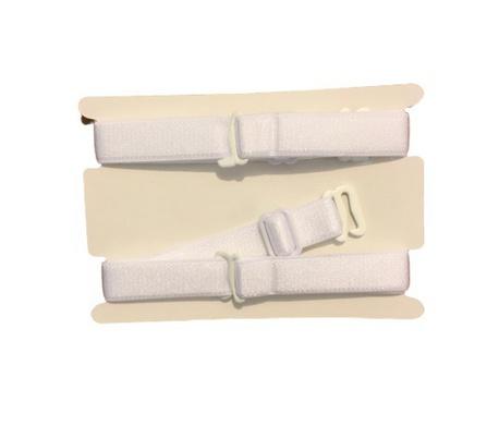Ramiączka tekstylne białe do stanika 12mm (1)