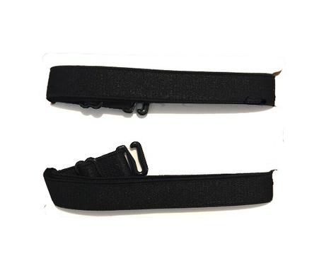 Ramiączka tekstylne czarne do stanika 12mm (1)