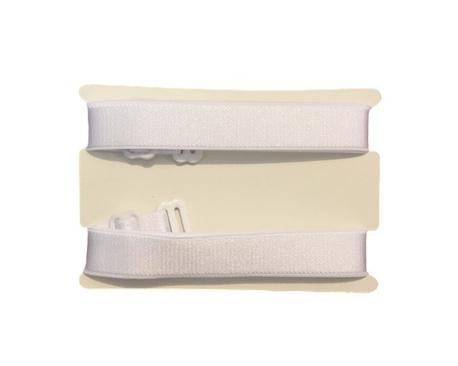 Ramiączka tekstylne białe do stanika 16mm (1)