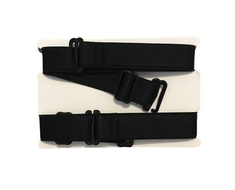 Ramiączka tekstylne czarne do stanika 16mm (1)
