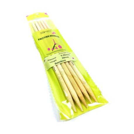 Zestaw drutów bambusowych 5,5mm