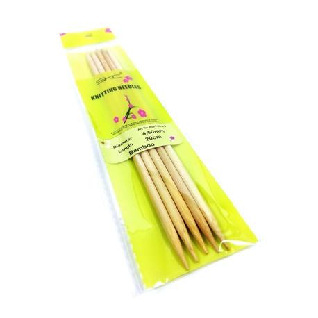 Druty bambusowe do skarpet SKC 4,5mm (1)