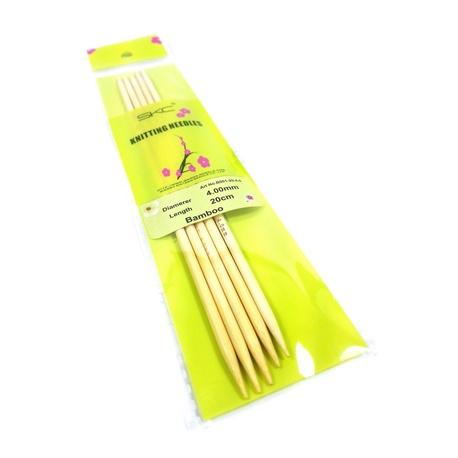 Druty bambusowe do skarpet SKC 4mm (1)
