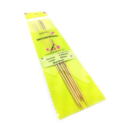 Druty bambusowe do skarpet SKC 2mm (1)