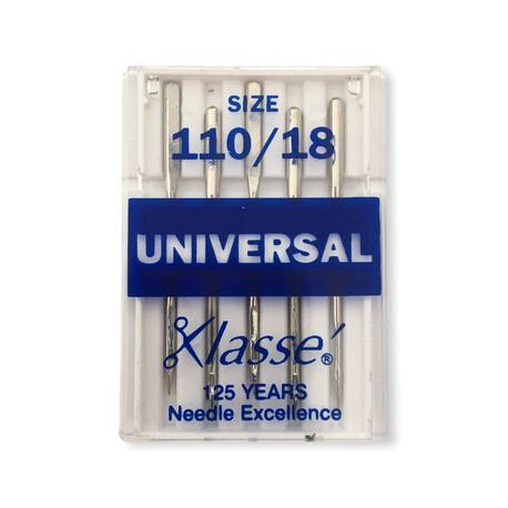 Igły uniwersalne półpłaskie do maszyny marki Klasse