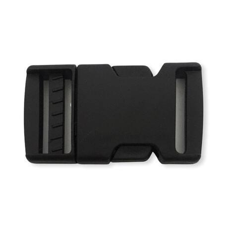 Klamra plastikowa z regulatorem 3cm w kolorze czarnym