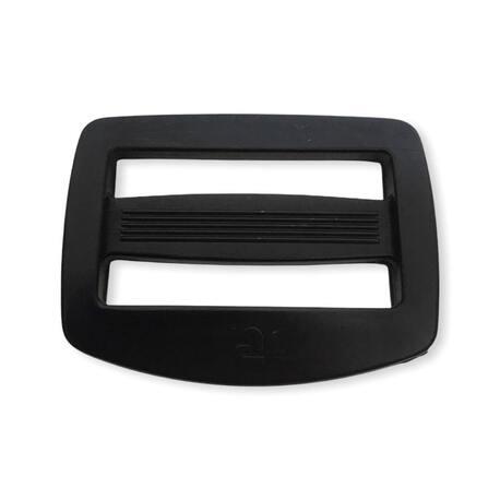 Czarny regulator plastikowy do plecaka 4cm