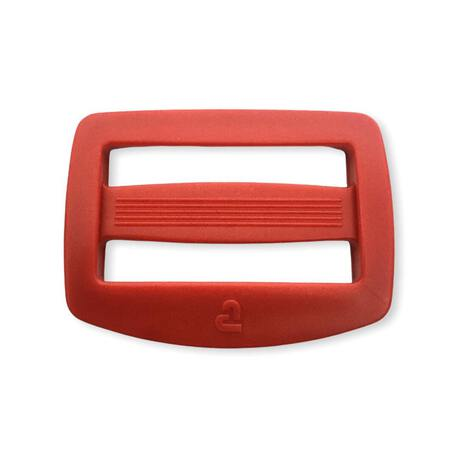 Regulator plastikowy do plecaka kolor czerwony