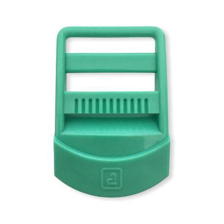 Plastikowy regulator do plecaka w kolorze miętowym 3cm