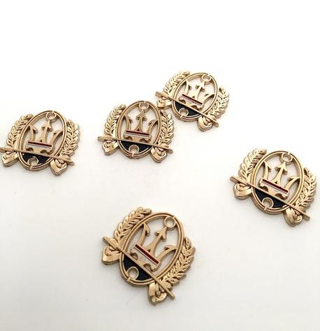 Zawieszka metalowa złota KL 147 (1)