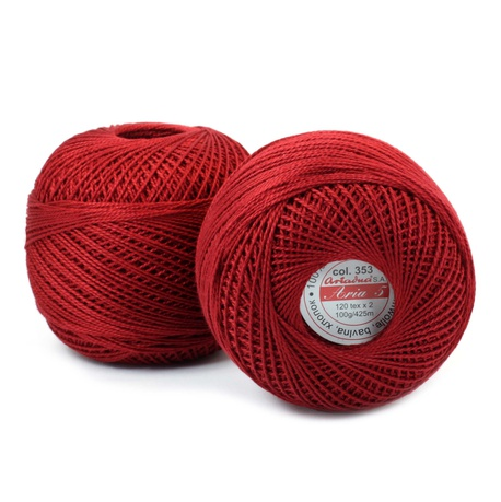 Kordonek Aria 5 100g rubinowy 353 (1)