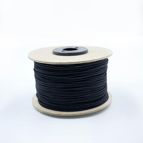 Guma okrągła czarna 1,3mm (1)
