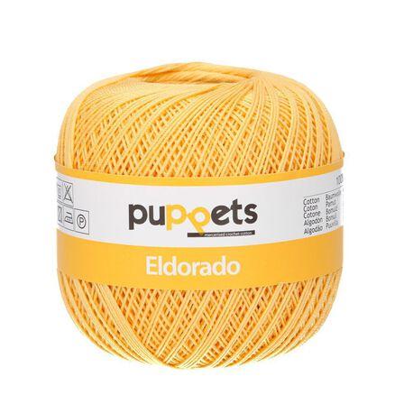 Kordonek Puppets Eldorado 50g żółty 4237 (1)