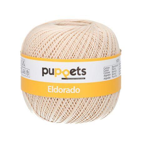 Kordonek Puppets Eldorado 50g jasny beż 4269 (1)