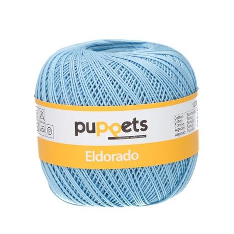 Kordonek Puppets Eldorado 50g błękitny 4280 (1)