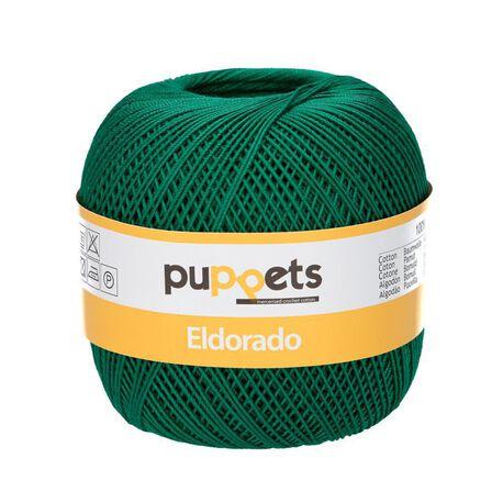 Kordonek Puppets Eldorado 50g ciemna zieleń 6332 (1)