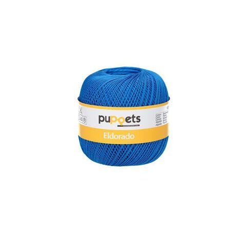 Kordonek Puppets Eldorado 50g niebieski 7132 (1)