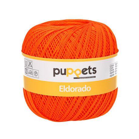 Pomarańczowy kordonek Puppets Eldorado do tworzenia obrusów o grubości 10