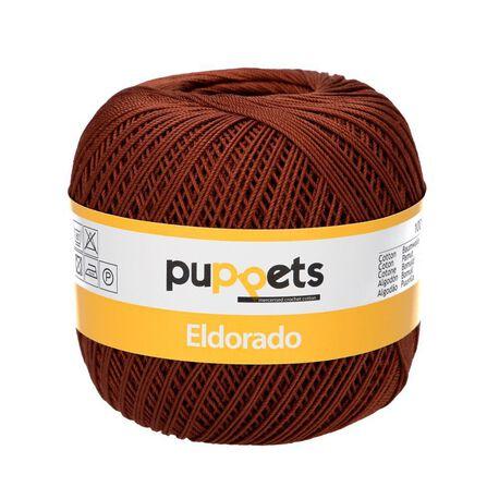 Kordonek Puppets Eldorado 50g brązowy 7359 (1)