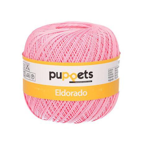 Kordonek Puppets Eldorado 50g różowy 7511 (1)
