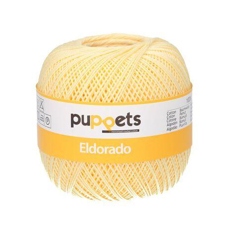 Kordonek Puppets Eldorado 50g kanarkowy 7515 (1)
