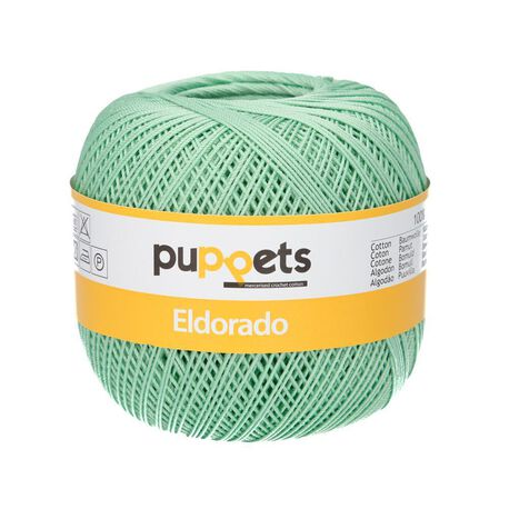 Kordonek Puppets Eldorado 50g pistacjowy 7518 (1)