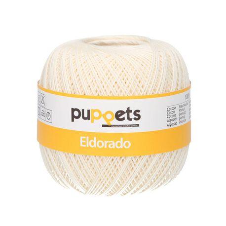 Kordonek Puppets Eldorado 50g ecru 8926 (1)