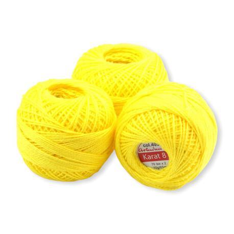 Żółty kordonek Ariadna Karat 8