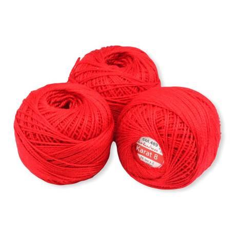 Czerwony kordonek Ariadna Karat 8