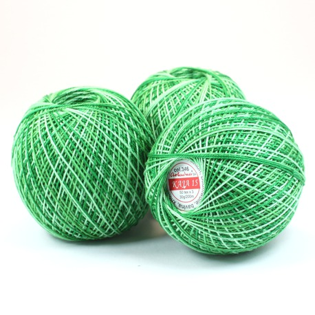 Kordonek Ariadna Kaja 15 kolor zielony cieniowany