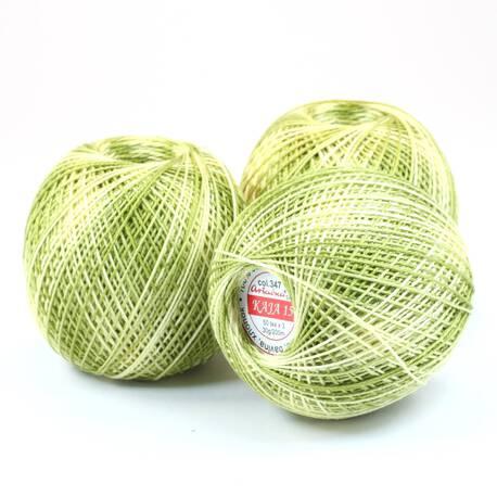 Kordonek cieniowany zielony Kaja 15