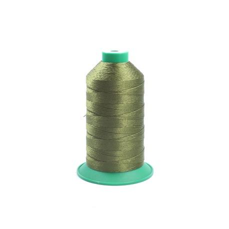 Kordonek Koral 10 w kolorze khaki. Eleganckie nici do szydełkowania