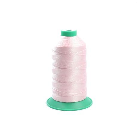 Nabłyszczane nici zdobnicze w kolorze jasno-różowym Ariadna Koral 10.