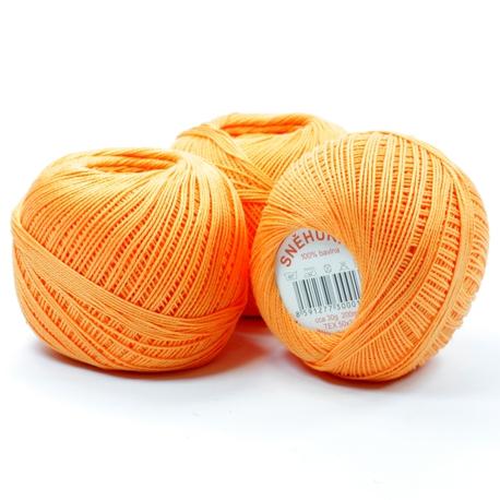 Pomarańczowy kordonek do robótek Snehurka
