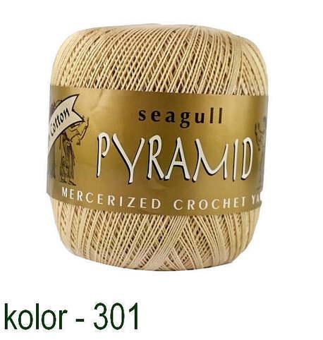 Kordonek z bawełny egipskiej beżowy Pyramid