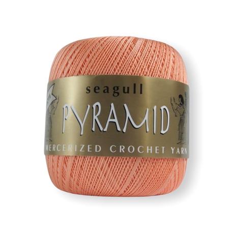 Kordonek Maxi - Pyramid w kolorze łososiowym