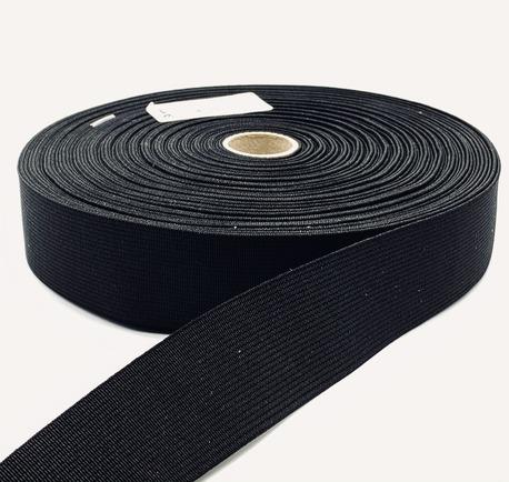 Guma tkana czeska 80mm czarna (1)